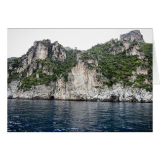 Cartão da costa de Amalfi