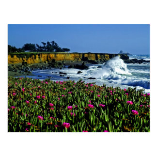 Cartão da costa de Califórnia