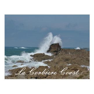 Cartão da costa de Corbier do La