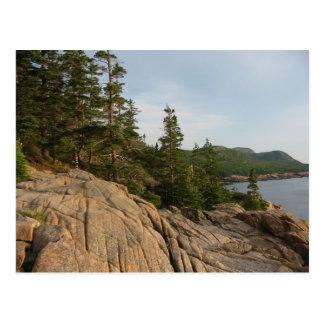 Cartão da costa II do Acadia