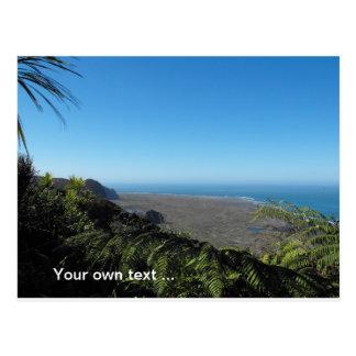 Cartão da costa oeste de Auckland Cartão Postal