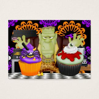 Cartão da cozinha do Dia das Bruxas - SRF