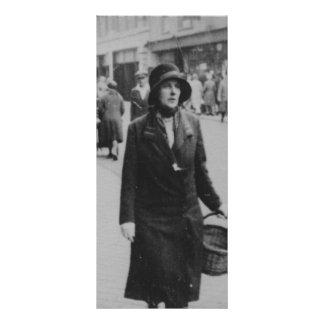 Cartão da cremalheira da imagem da senhora Compra 10.16 X 22.86cm Panfleto