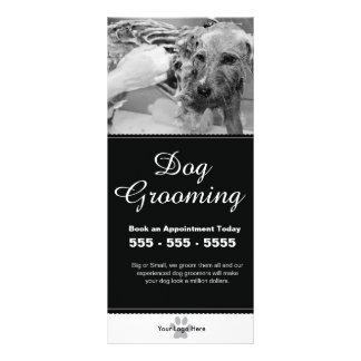 Cartão da cremalheira da preparação do cão -