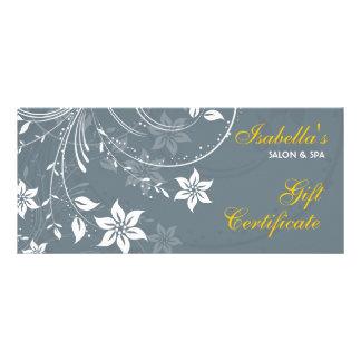 Cartão da cremalheira do design floral planfeto informativo colorido
