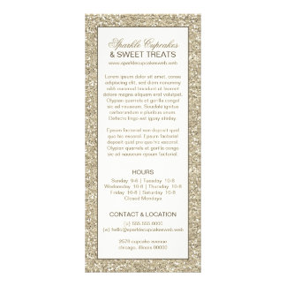 Cartão da cremalheira do encanto do olhar do 10.16 x 22.86cm panfleto