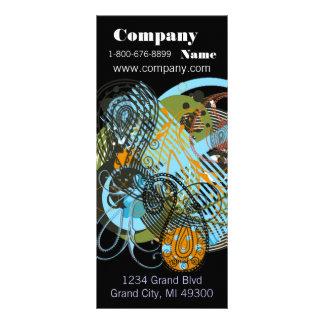 Cartão da cremalheira do recurso de Smokey Mountia Panfleto Personalizado