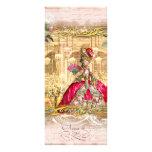 Cartão da cremalheira do rosa do partido de Marie  Panfleto Personalizado
