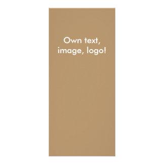 Cartão da cremalheira Ouro-Alaranjado