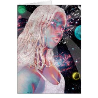 Cartão da criação do universo