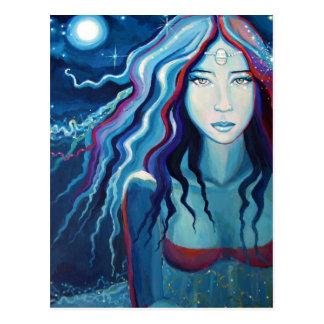 """Cartão da deusa - """"lua elétrica """""""