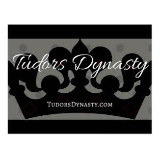 Cartão da dinastia de Tudors