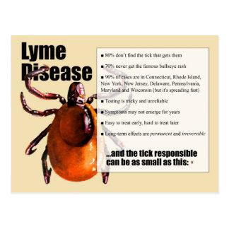 Cartão da doença de Lyme