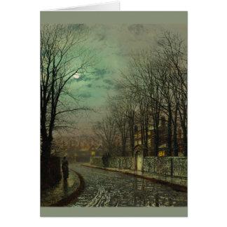 Cartão da escapadela CC0610 de Atkinson Grimshaw