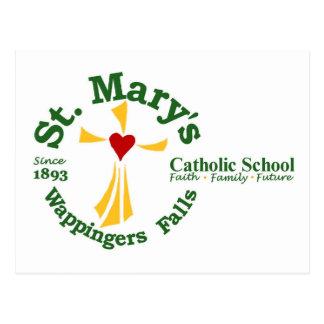 Cartão da escola católica de St Mary Cartões Postais