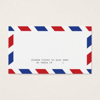 Cartão da escolta do correio aéreo