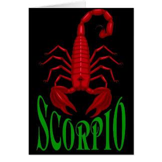 Cartão da Escorpião