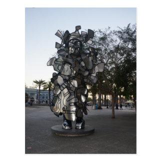 Cartão da escultura #2 de San Francisco