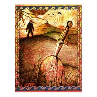 Cartão da espada da arte