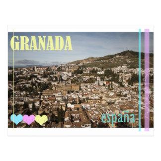 Cartão da espanha de Granada Cartão Postal