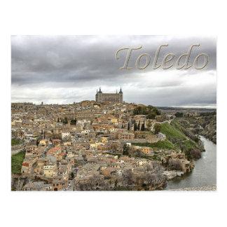 Cartão da espanha de Mancha do Castile-La de Cartão Postal