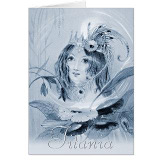 Cartão da fada CC0515 do Titania (prados,