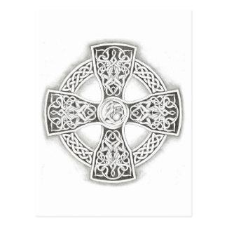 Cartão da fantasia da cruz celta
