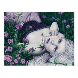 Cartão da fantasia do primavera