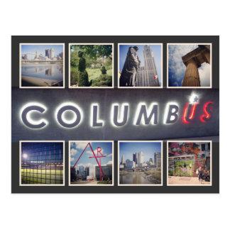 Cartão da foto de Columbo Ohio