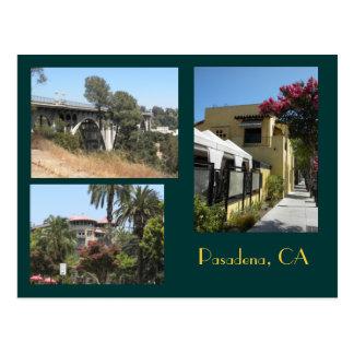 Cartão da foto de Pasadena, Califórnia
