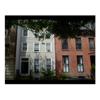 Cartão da foto do bloco de Brooklyn