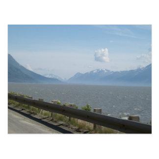 Cartão da foto do Golfo do Alasca