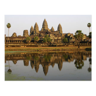 Cartão da foto do viagem de Cambodia | Angkor Wat