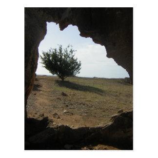 Cartão da fotografia do viagem da caverna da