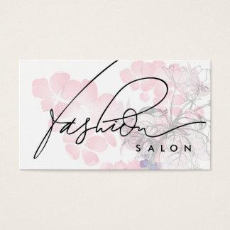 Cartão da fragrância da beleza do desenhista do