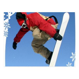 Cartão da garra do Snowboard