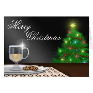 Cartão da gemada e do Natal dos biscoitos