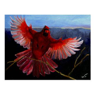Cartão da glória do cardeal