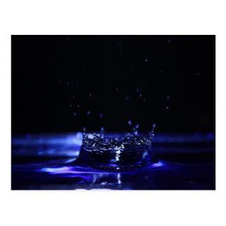 Cartão da gota da água