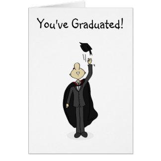 Cartão da graduação