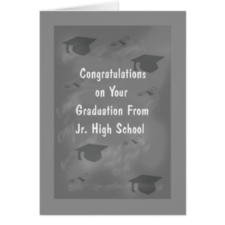 Cartão da graduação para o design da ardósia do