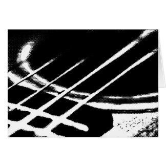 Cartão da guitarra