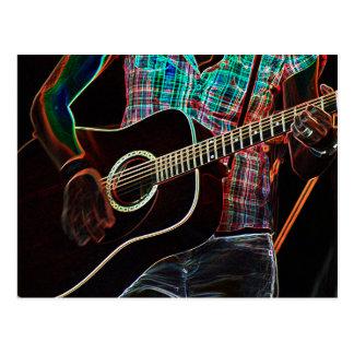 Cartão da guitarra 1