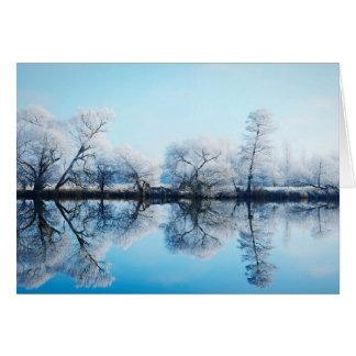 Cartão da Havelland em Winter.