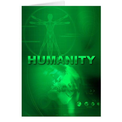 Cartão da humanidade