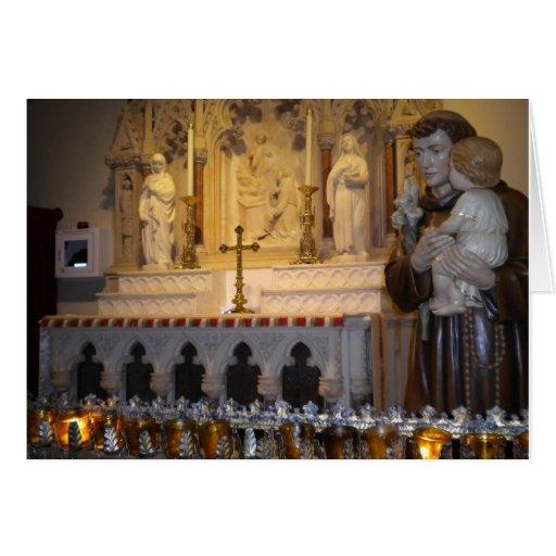 Cartão da igreja Católica