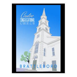 Cartão da Igreja Congregacional do centro