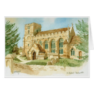 Cartão da igreja de Chedworth