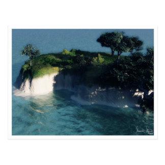 Cartão da ilha de Nani