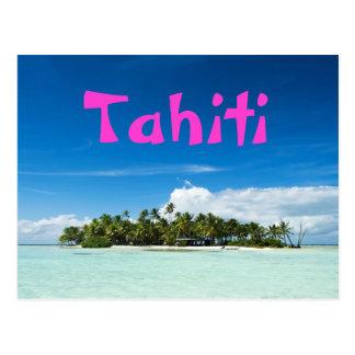 Cartão da ilha de Tahiti Cartão Postal